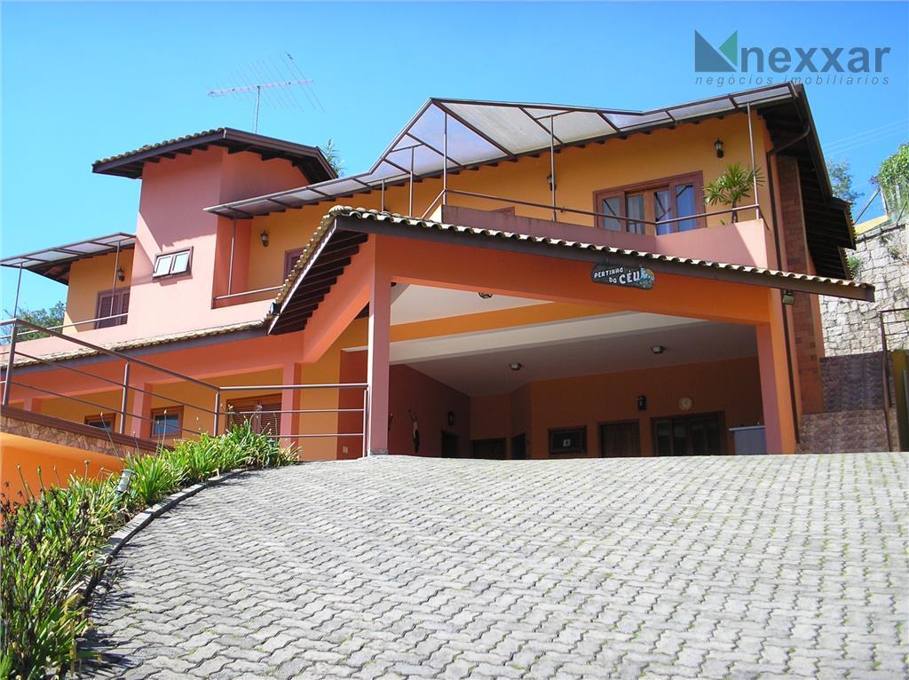Casa residencial à venda, Condomínio Vale Da Santa Fé, Vinhedo - CA0370.