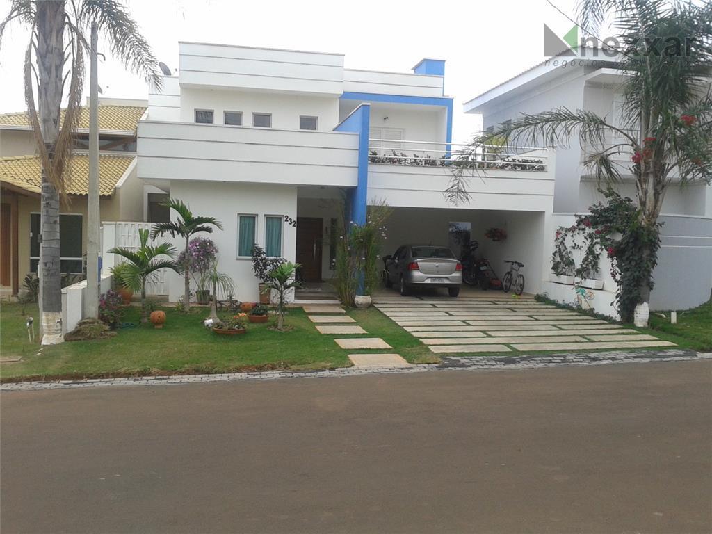 Casa residencial à venda, Condomínio San Marino, Artur Nogueira - CA0364.