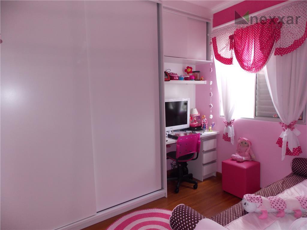 <strong>apartamento a venda em valinhos </strong>com 2 dormitórios, armários planejados, piso laminado, portas camarão, blindex, garagem...