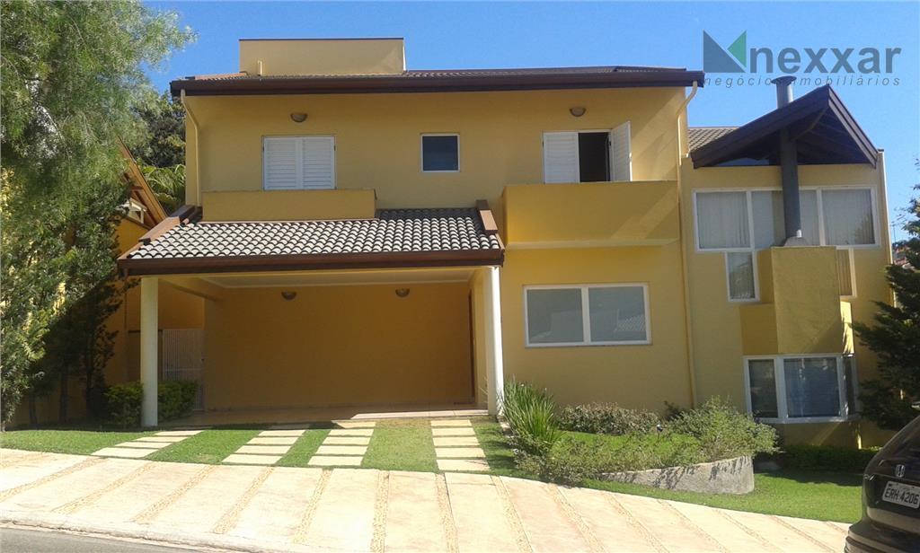 Casa residencial para locação, Condomínio Terras do Paiqueré, Valinhos - CA0395.