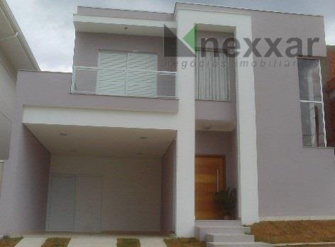 Casa residencial à venda, Condomínio Residencial Portal Do Jequitiba , Valinhos - CA0411.