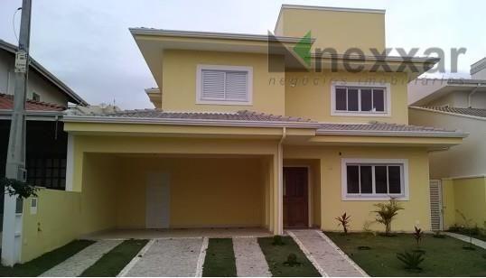 Casa residencial à venda, Condomínio Residencial Canterville , Valinhos - CA0429.