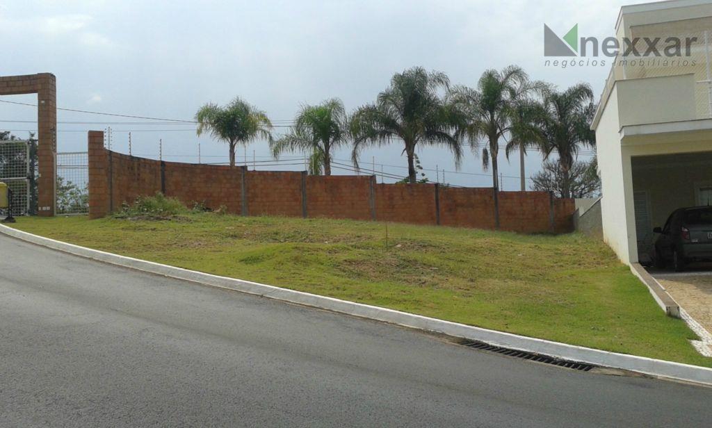 Terreno  residencial à venda, Condomínio Residencial São Lourenço, Valinhos.