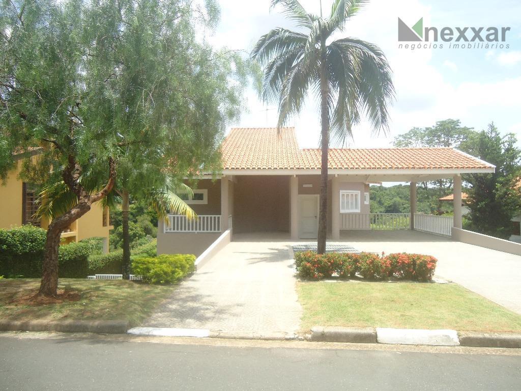 Casa residencial para venda e locação, Condomínio Chácara Flora, Valinhos - CA0493.