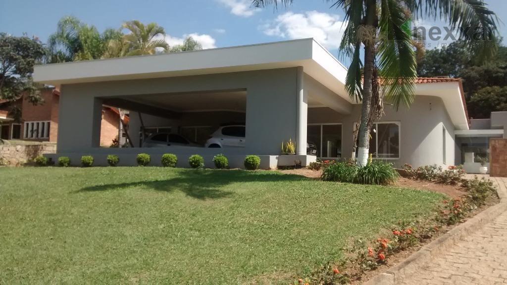 Casa residencial à venda, Condomínio Village Sans Souci, Valinhos - CA0494.