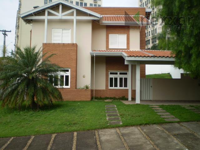 Casa  residencial para locação, Condomínio Terras do Paiqueré, Valinhos.