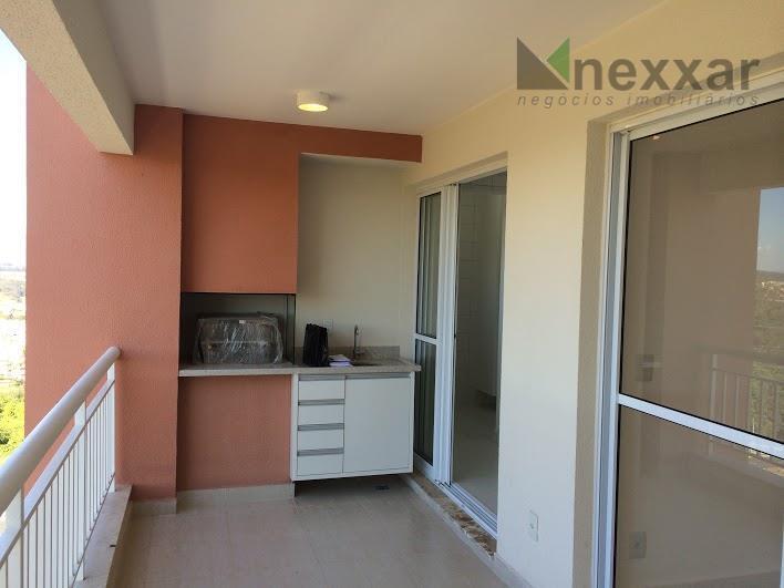 apartamento c/ 3 suítes c/ armários, lavabo, sala de estar e jantar, cozinha c/ armários, área...