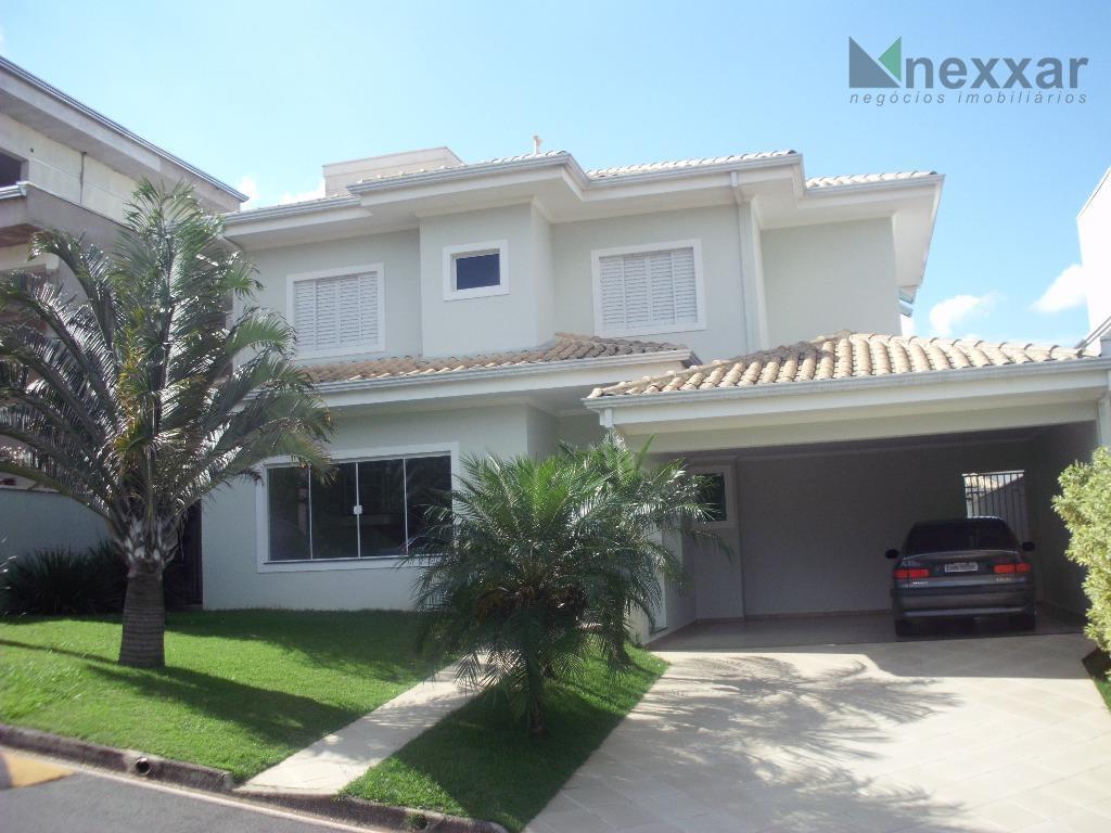 Casa  residencial para locação, Condomínio Millenium, Valinhos.