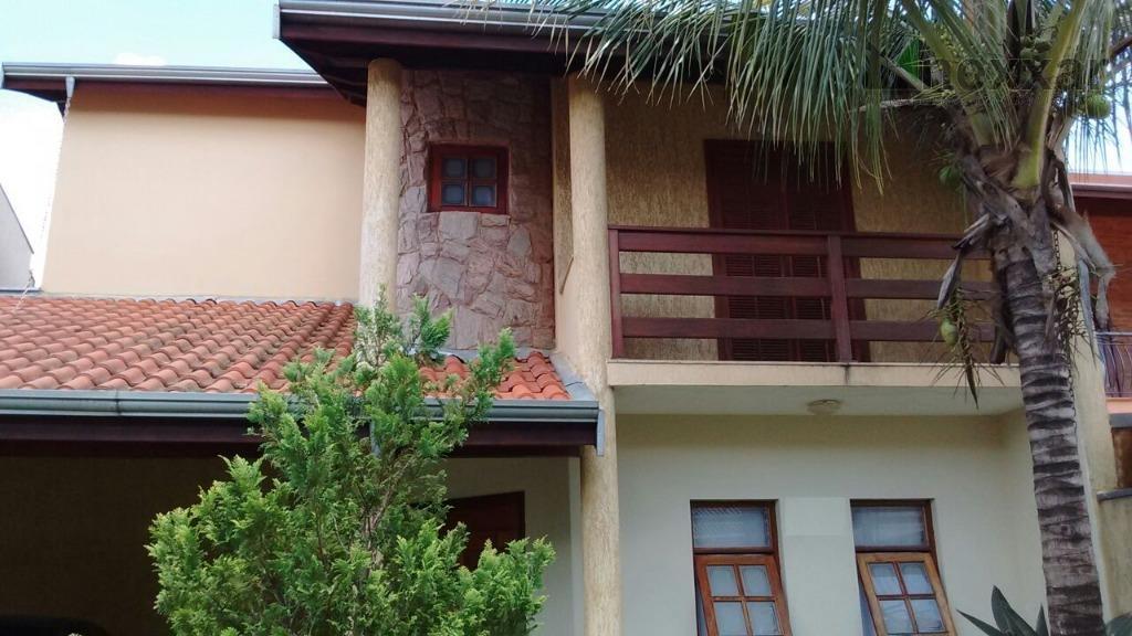 Casa residencial à venda, Condomínio São Joaquim, Valinhos - CA0596.