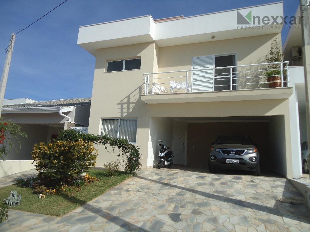 Casa residencial à venda, Condomínio Residencial Flor da Serra , Valinhos - CA0625.