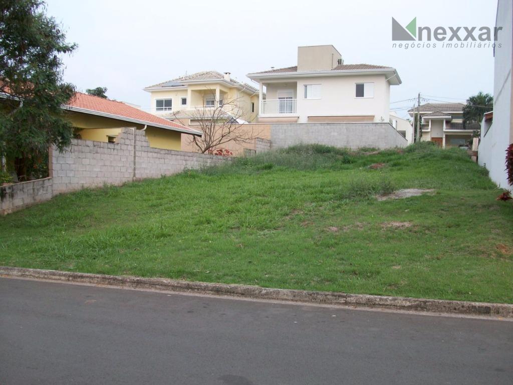 Terreno residencial à venda, Condomínio Vivenda das Cerejeiras, Valinhos.