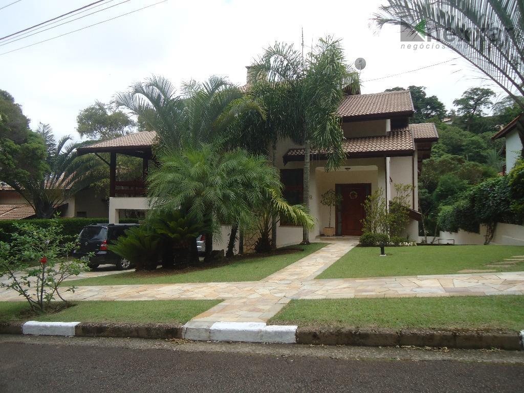 Casa residencial à venda, Condomínio Chácara Flora, Valinhos - CA0692.