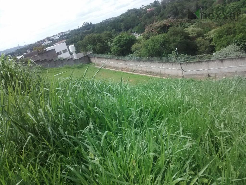 Terreno residencial à venda, Condomínio Athenas, Valinhos - TE0356.