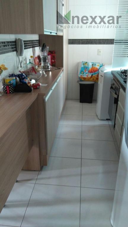 Apartamento residencial para locação, Condomínio Residencial Vila Ventura , Valinhos.
