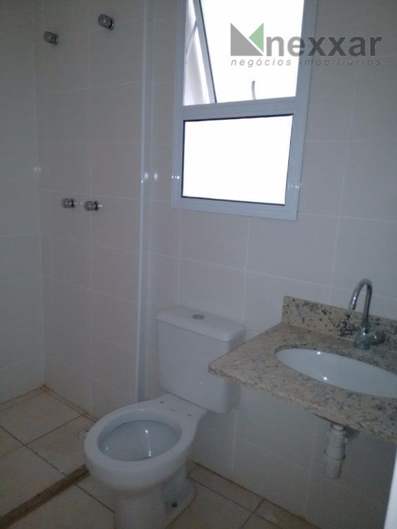 apartamento em condomínio com lazer completo, 3 dorms sendo 1 suíte, sala com 2 ambientes, cozinha,...
