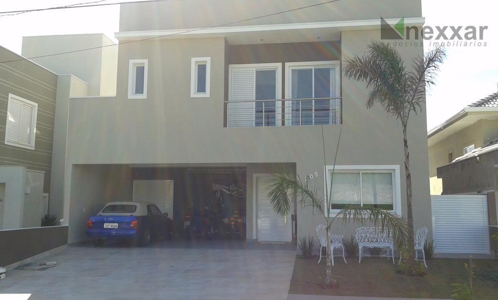 Casa residencial à venda, Condomínio Portal do Jequitibá, Valinhos - CA0840.