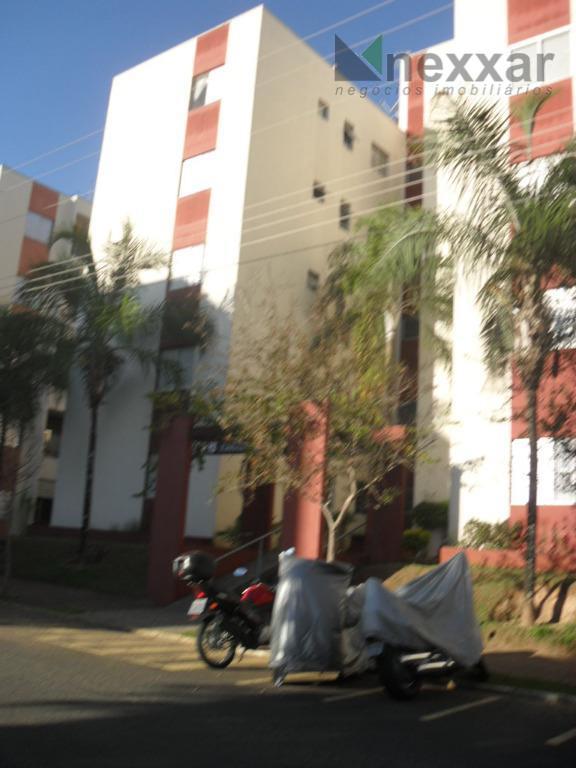 Apartamento residencial para locação, Condomínio Parque dos Pássaros, Valinhos.