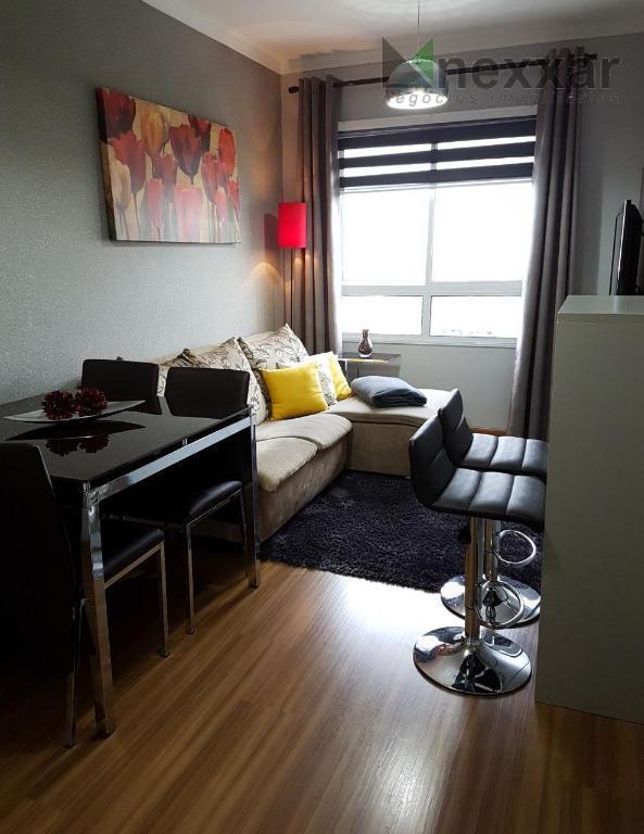 apartamento todo planejado no condomínio vista valley com 2 dormitórios. vista espetacular!oportunidade!vale a pena conferir!!