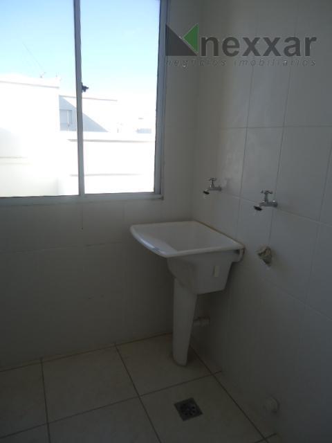 apto novo, 2 dorms sendo 1 suíte, sala com 2 ambientes, cozinha americana, lavanderia, 1 garagem...