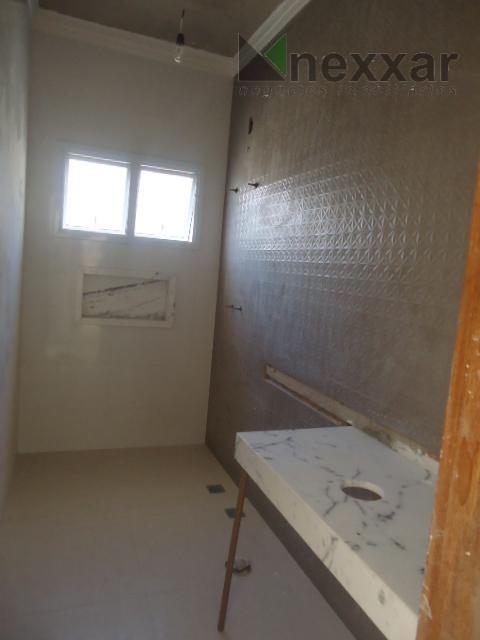sobrado, novo, com 3 suites sendo 1 com closet, salas de jantar e estar, lavabo, cozinha...