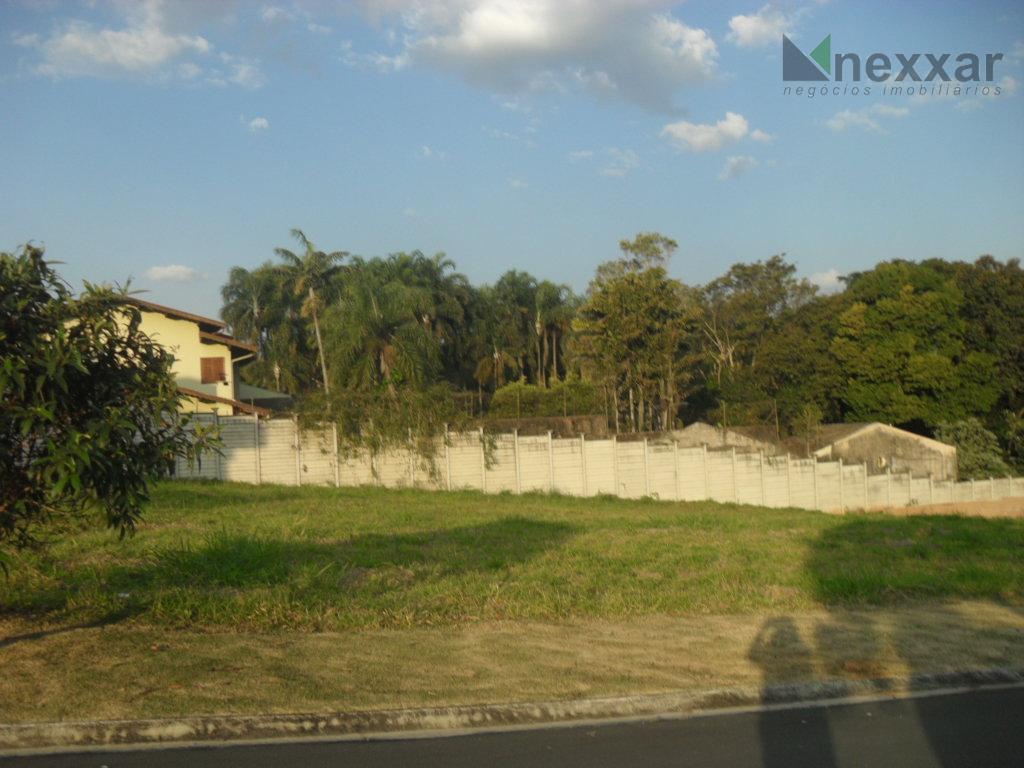 Terreno residencial à venda, Condomínio Canto Del Bosco, Valinhos.