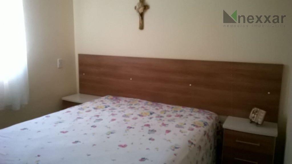 apartamento com 2 dormitórios, sacada,1 vaga de garagem.condomínio com salão de festas e campo de futebol.estuda...
