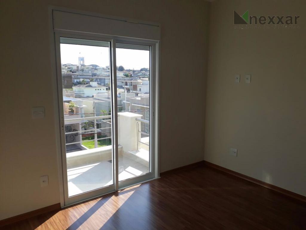 sobrado, novo, 3 suítes, espaço gourmet com churrasqueira, sala com 2 ambientes, lavabo, cozinha americana, escritório,...