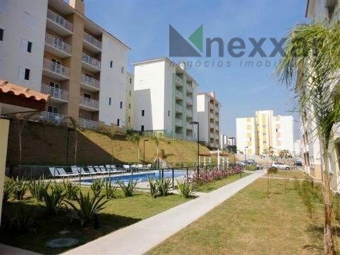 Apartamento residencial à venda, Condomínio Vila Ventura, Valinhos.
