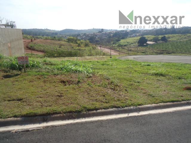 Terreno residencial à venda, Condomínio Mont'Alcino, Valinhos.