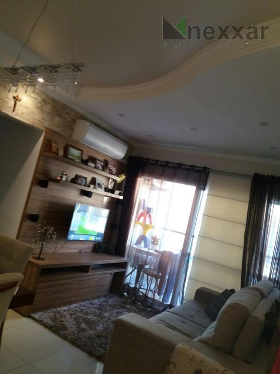 lindo apto em condomínio com área de lazer completa, com 3 dormitórios sendo 1 suíte, varanda...