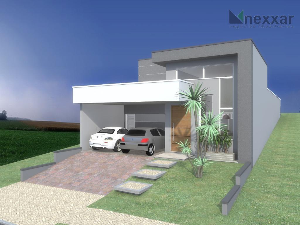 casa térrea em condomínio, 2 salas, 3 suítes, lavabo, espaço gourmet, quintal, 2 garagens cobertas, ainda...