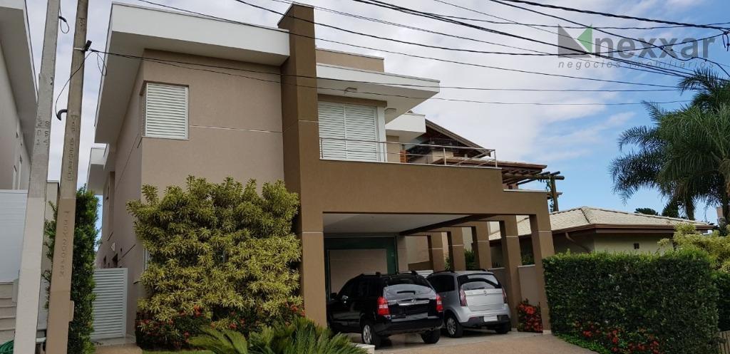 Casa residencial à venda, Condomínio Residencial Morada das Nascentes, Valinhos - CA1003.