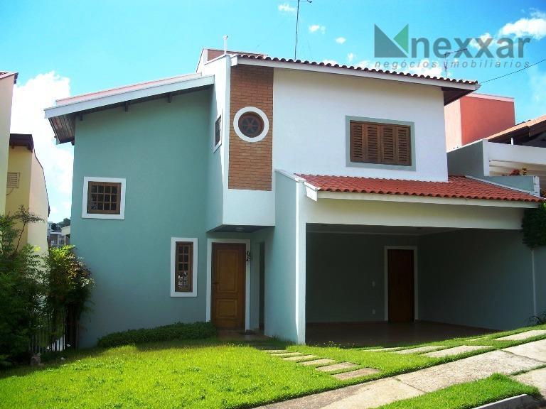 Casa residencial para locação, Condominio Villagio Florença, Valinhos.