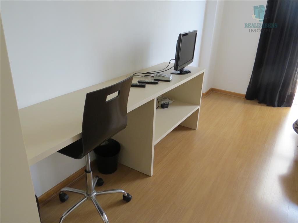 excelente studio para locação, mobiliado, no centro de curitiba. o studio possui, 43,30 m2 de área...