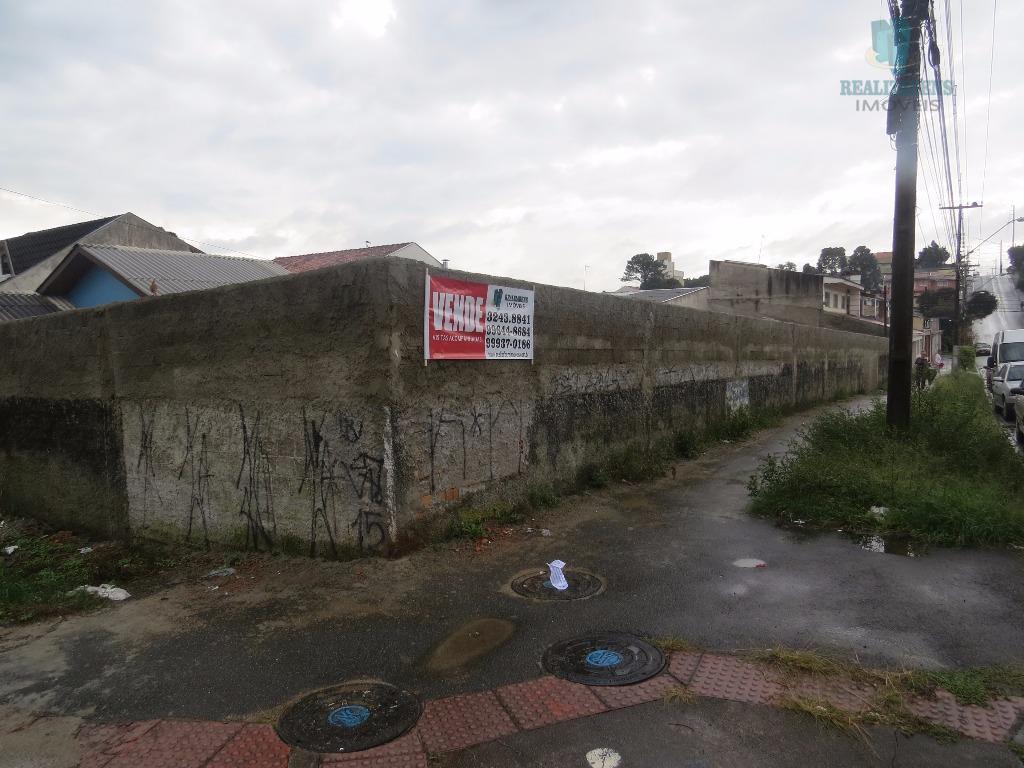 excelente terreno plano de esquina para venda no capão raso com excelente localização (a 5 minutos...
