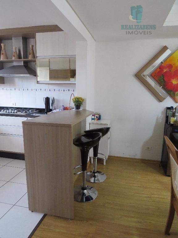 integração cozinha/sala