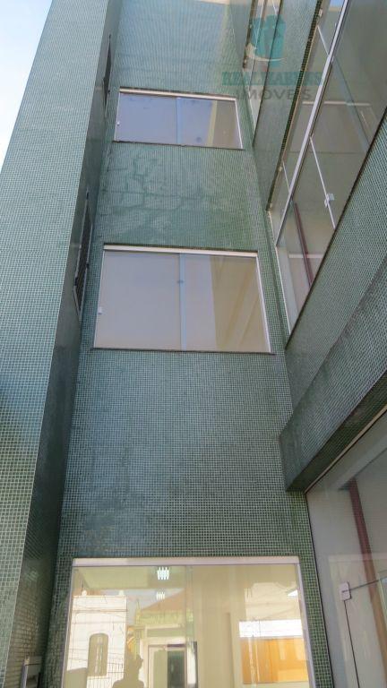Fachada lateral do prédio