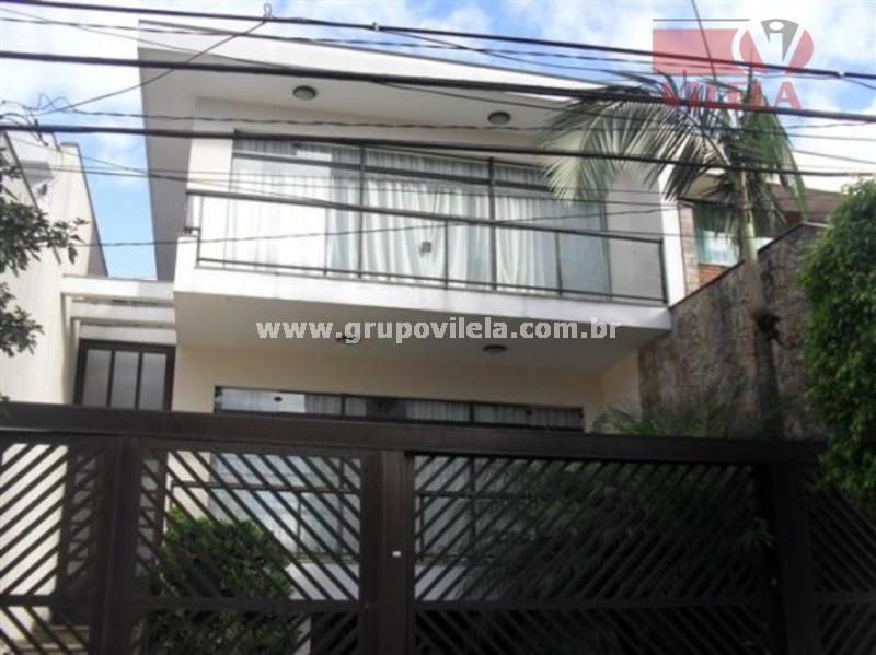 Sobrado residencial à venda, Mooca, São Paulo - SO0036.
