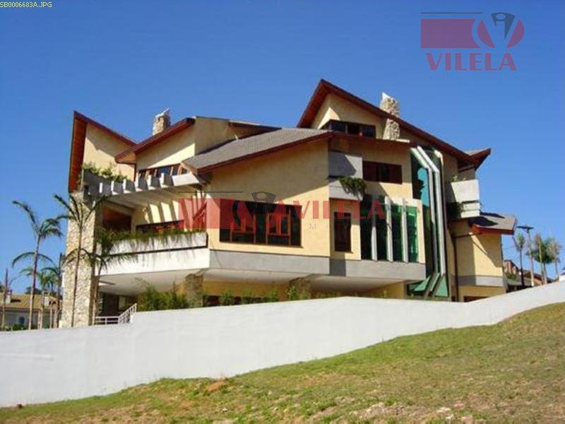 Sobrado residencial à venda, Alphaville, Santana de Parnaíba - SO0157.