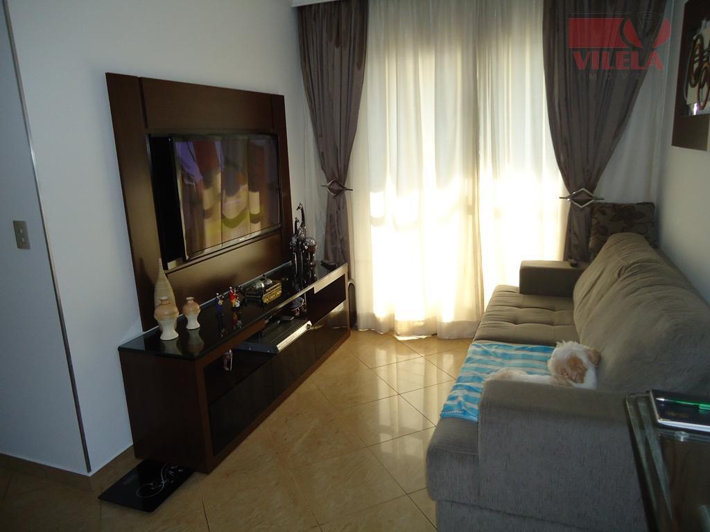 Apartamento residencial à venda, Vila Bela, São Paulo - AP0334.