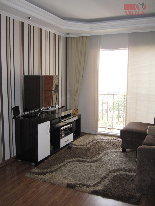 Apartamento residencial à venda, Vila Ema, São Paulo - AP0372.