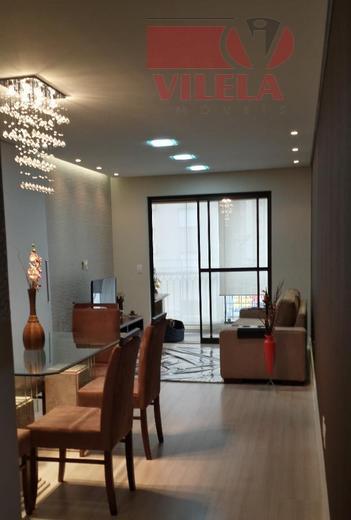 Apartamento residencial à venda, Água Rasa, São Paulo - AP0390.