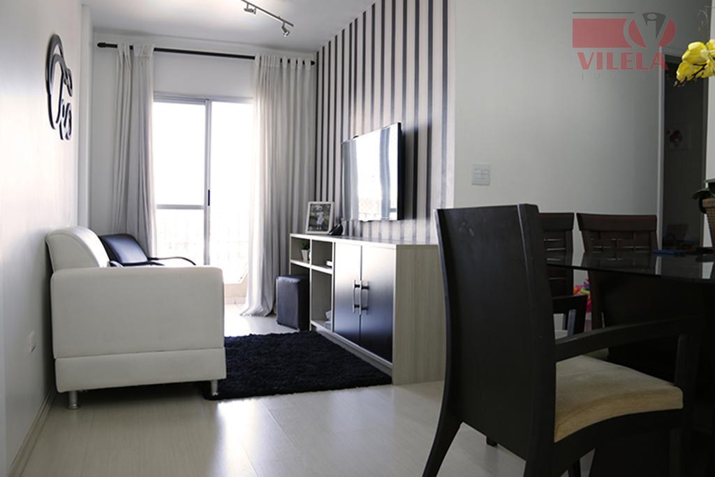 Apartamento residencial à venda, Vila Ema, São Paulo - AP0396.