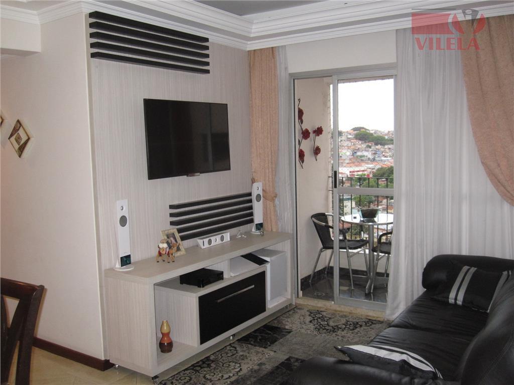 Apartamento residencial à venda, Vila Ema, São Paulo - AP0404.