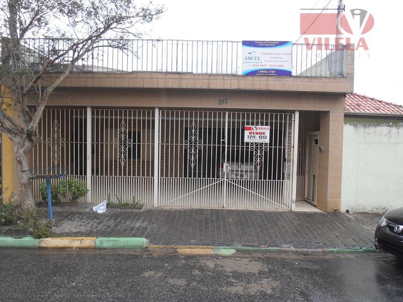 Casa residencial à venda, Parque São Lucas, São Paulo - CA0136.