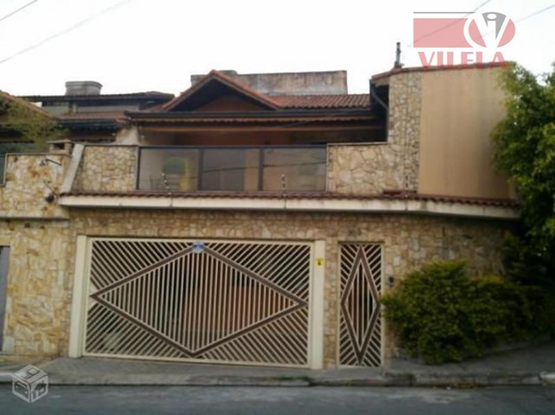 Sobrado residencial à venda, São Lucas, São Paulo - SO0349.
