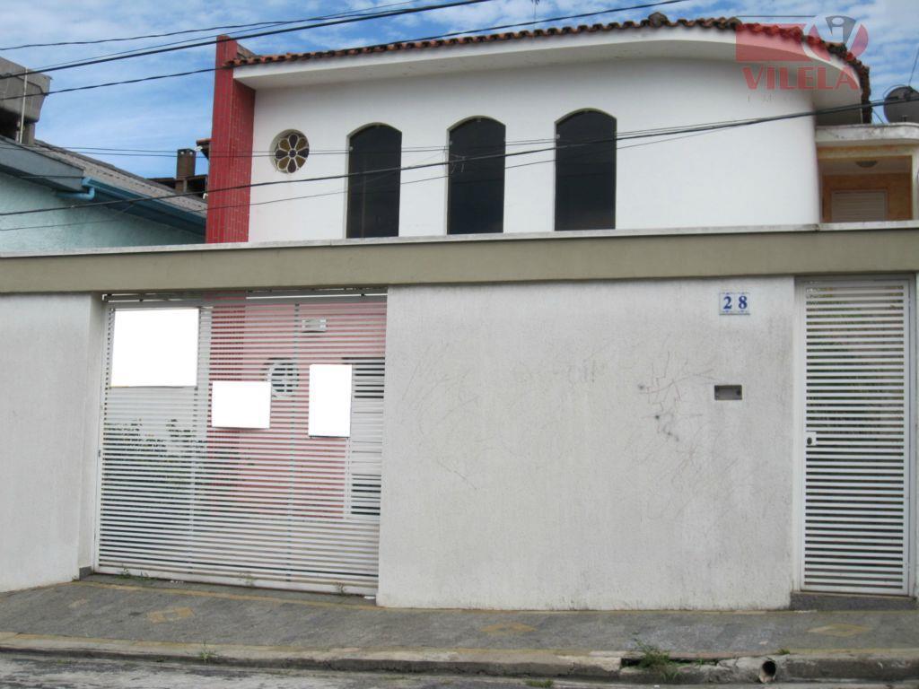 Casa residencial à venda, Parque São Lucas, São Paulo - CA0162.
