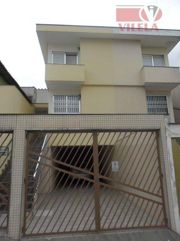 Sobrado residencial à venda, Parque São Lucas, São Paulo - SO0376.