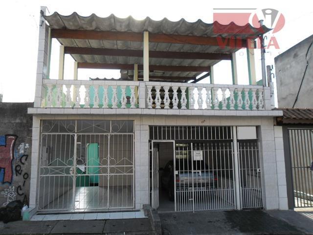 Casa residencial à venda, Vila Bancária, São Paulo - CA0034.