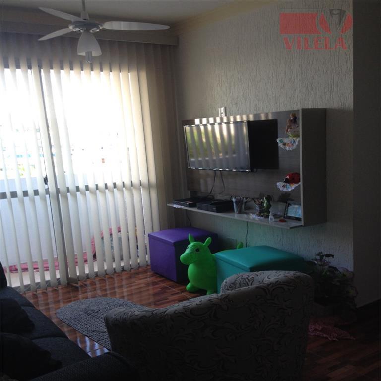 Apartamento residencial à venda, Vila Ema, São Paulo - AP0054.